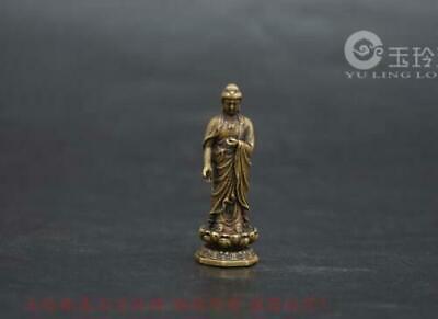Collection Decorative archaize brass dragon fish small statue