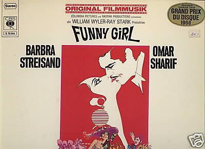 VINYL LP (CBS S 70 044) FUNNY GIRL (ORIGINAL FILMMUSIK)