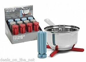 Ethos Silicone Foldable Trivet Heat Resistant Compact Folds Away