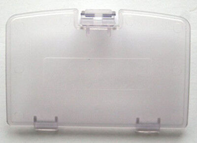 (NEW CLEAR PURPLE GAME BOY COLOR REPLACEMENT BATTERY COVER LID DOOR FOR SYSTEM)
