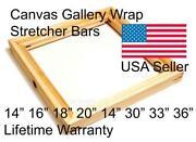 Canvas Stretcher Bars