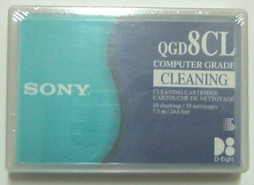 SONY 8MM VIDEO8 HI8 D8 DIGITAL8 DATA8 HEAD CLEANING CLEANER CLEAN TAPE NEW BIN