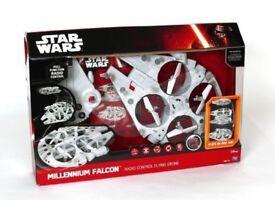 Star Wars Millennium Falcon Radio Control Flying Drone
