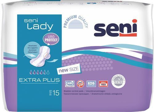 Seni Lady Extra Plus Inkontinenz Einlagen-240Stk. Kartonversand SH *ANGEBOT *!