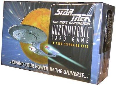 STAR TREK CCG 1E : PREMIERE BETA UNLIMITED WB BOOSTER BOX 36 PACKS SEALED