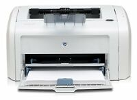 HP BW LaserJet 1018 Printer