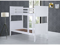 Solid chunky, bright white, , Bunk bed, Single, Thick, Padded, Mattress, cahnges to single beds,