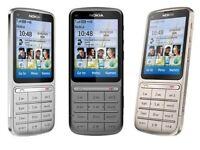 Nokia C3-01 3G Unlocked Touch & Type Mobile 5 MP Camera grade B