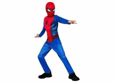 BOY SPIDER MAN COSTUME SIZE  ( 8-10 )  ** HOME COMING NWT