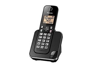 Panasonic KXTGC380B 6.0 DECT Digital Cordless Phone