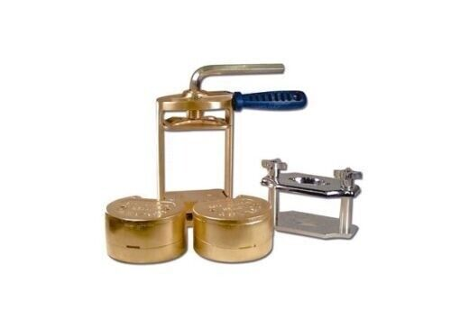Dental Lab Press Compress with Two Flask Bronze + Reline Jig