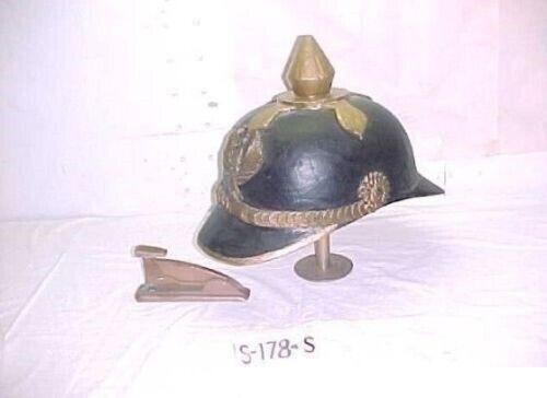 WW1 HUGE IMPERIAL GUARDS PICKLEHAUB HELMET