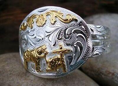 Jewelry & Accessories-Western - Horse Belt Buckle