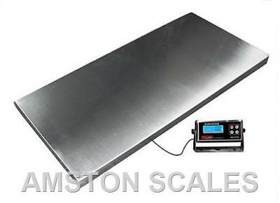 Extra Large Digital Shipping Scale 1000 X 0.5 Lb 43 X 20 Postal Heavy Duty Steel