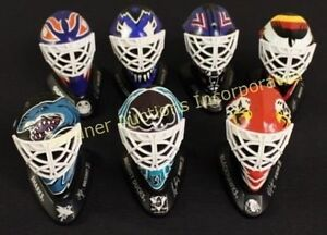 WANTED McDonalds GOALIE MASKS display collectible sign helmet St. John's Newfoundland image 3