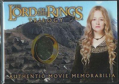 LOTR Trilogy Chrome Memorabilia Card Eowyn Stable Dress