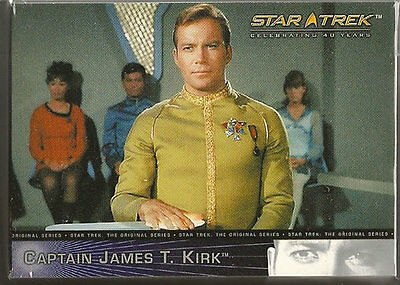 Star Trek 40th Anniversary Trading Cards 90 Card Base Set