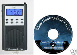 P-SB7 Paranormal Spirit Box FM Sweep Rate - Paranormal CD - Ghost Adventures