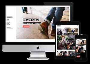Get a nice website free of charge.