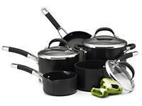 Brand New - Still in box Circulon Premier Professional Hard Anodised Cookware Set , Black - 5 Piece