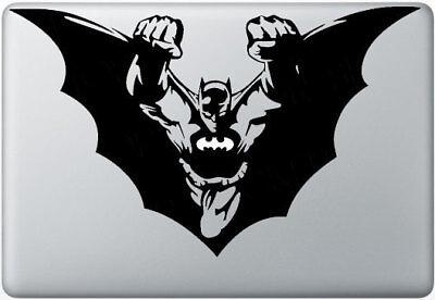 "Fly-Bat Vinyl Decal Sticker For MacBook Air Pro Mac 11"" 13"" 15""  & Car"