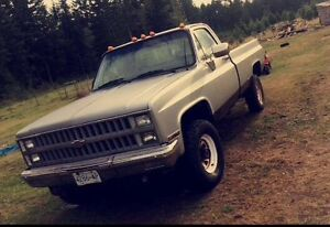 81 CHEVY 4X4 PICKUP