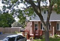 Park and Wentworth -3 bedroom 1 bathroom main and upper