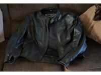 Weise motorbike leather jacket