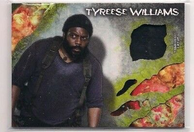 WALKING DEAD SURVIVAL BOX TYREESE WILLIAMS PANTS RELIC CARD #/99!, usado segunda mano  Embacar hacia Argentina