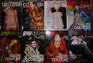 8 Haute Couture Fashion Design Magazine: Collezioni & Gap Press
