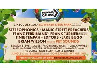 Volunteer at Kendal Calling Festival - go for free without missing any of the festival!