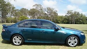 2009 Ford Falcon FG XR6 Green 5 Speed Sports Automatic Sedan Bundaberg West Bundaberg City Preview