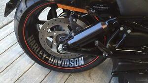 Wheel decals for harley,honda, suzuki