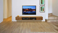 tv wallmounting installation Only $74.99 for wall mounting ur tv