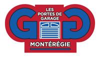 Portes de garage Montérégie