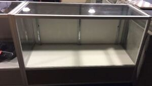 GLASS DISPLAY CASES - 4FT CASE $200 AND 6FT CASE $300