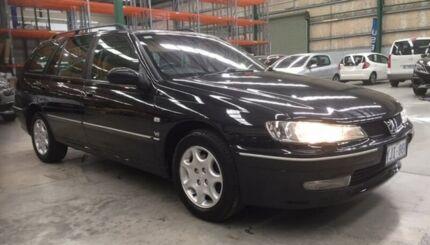 2002 Peugeot 406 D9 SV Black 4 Speed Automatic Wagon