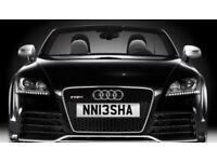 NISHA private number plate Neesha NISH S3 Amg c63 M3 tt RS GTI Mercedes BMW Lexus X5 Q7 RS3 RS4