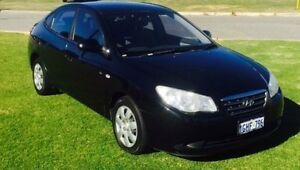 2007 Hyundai Elantra HD SX Black 4 Speed Automatic Sedan Maddington Gosnells Area Preview