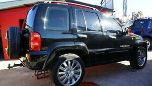 2002 Jeep Cherokee SPORT 4X4 Black Automatic Wagon Lansvale Liverpool Area Preview