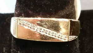 14k Yellow and White Gold Bracelet with 66 Round Cut Diamonds Peterborough Peterborough Area image 5