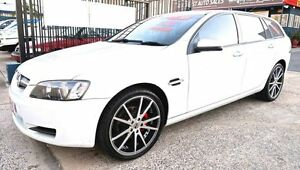 2008 Holden Commodore VE MY09 Omega White 4 Speed Automatic Sportswagon Underwood Logan Area Preview