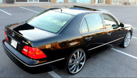 2002 LEXUS LS430 ULTRA LUXURY PACKAGE WITH OPTIONAL 22's