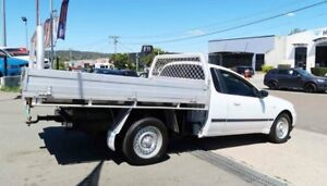 2003 Ford Falcon BA XL Super Cab White 5 Speed Manual Cab Chassis