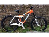 "Kona Stinky DH Mountain Bike, 26""; wheels"