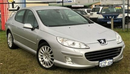 2006 Peugeot 407 MY06 Upgrade SV HDI Silver 6 Speed Tiptronic Sedan Wangara Wanneroo Area Preview