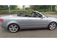 2008 (58 Reg) Audi A4 S Line 2.0 TDI Cabriolet Convertible - Park Assist, Heated Leather Seat