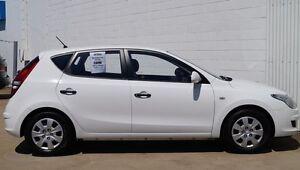 2011 Hyundai i30 FD MY11 SX White 5 Speed Manual Hatchback Bundaberg West Bundaberg City Preview