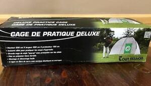 Cage de Pratique Deluxe. Jamais utilisée, neuf dans la boîte.