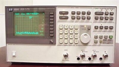 Agilent HP Keysight 3577B Network Analyzer, 5 Hz to 200 MHz